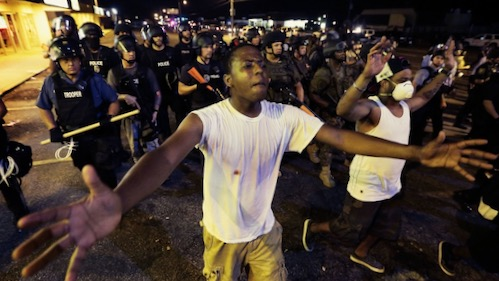 Ferguson A Report from Occupied Territory
